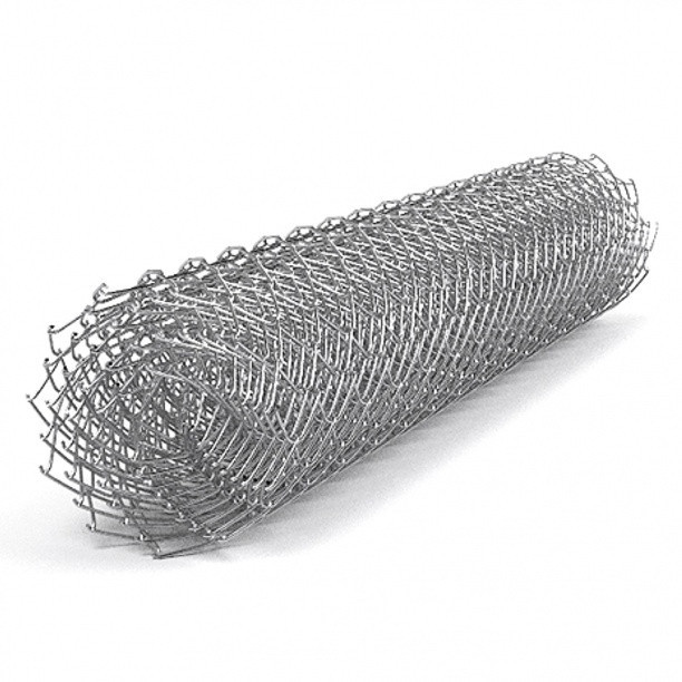 Сетка рабица Сітка Захід высота 1.8м длина 10м ф1.8оц ячейка 50х50мм