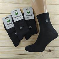Носки демисезонные мужские  MIRABELLO Турция organik cotton 41-44р чёрные НМД-0510135