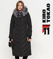 11 Киро Токао | Куртка женская на зиму 1763 черная 50 54 размеры