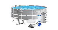 Каркасный бассейн Intex 26716, (366 x 99 см) (2 006 л/ч, лестница)