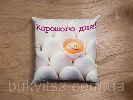 """Подушка """"Хорошого дня!"""", фото 2"""