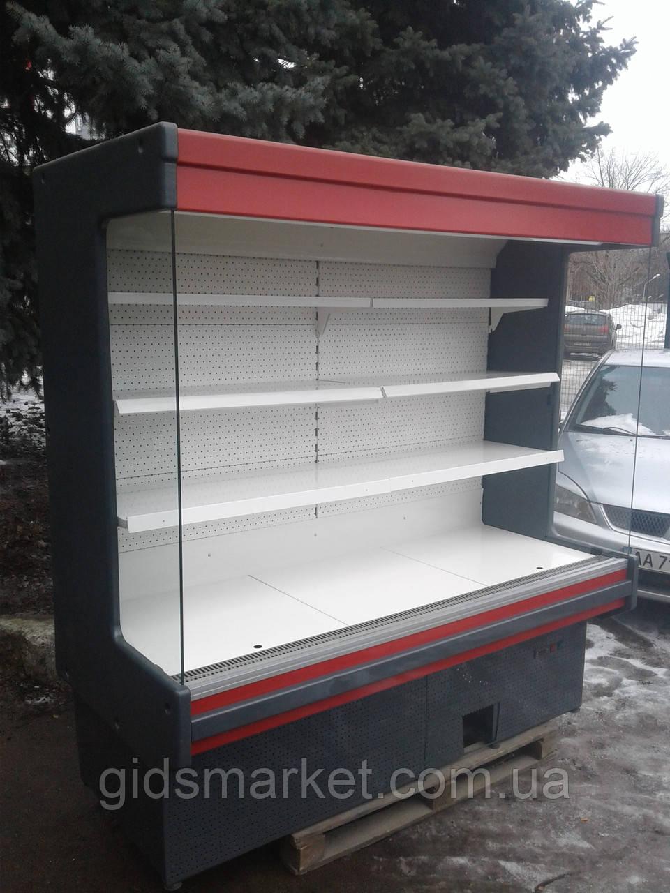 Холодильная горка Byfuch 2 м.б/у.  регал холодильній бу