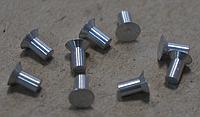 Заклепка ГОСТ 10300-80 алюминиевая с потайной головкой 4х9