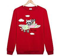 Джемпер FLY HIGH детский красный