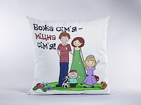 "Подушка ""Божья семья..."", фото 2"