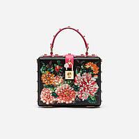 Женская сумочка из принтованной кожи Dolce Box