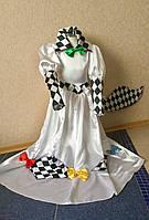 Дитячий костюм Арлекіна дівчинка, фото 1