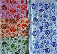 "Махровое кухонное полотенце 25х50 ""Цветочек"""
