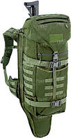 Рюкзак Defcon 5 BATTLE BACK PACK CON PORTA FUCILE OD оливковый