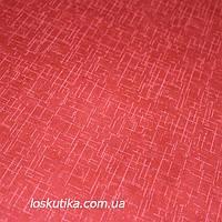 38005 Настоящий красный. Ткань для квилтинга, трапунто, пэчворка, для кукол и текстильных игрушек.