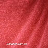 38005 Настоящий красный. Ткань для квилтинга, трапунто, пэчворка, для кукол и текстильных игрушек., фото 2