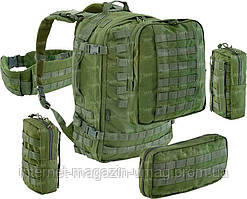 Рюкзак Defcon 5 EXTREME FAST RELEASE MODULAR FULL Molle BACK PACK OD оливковый
