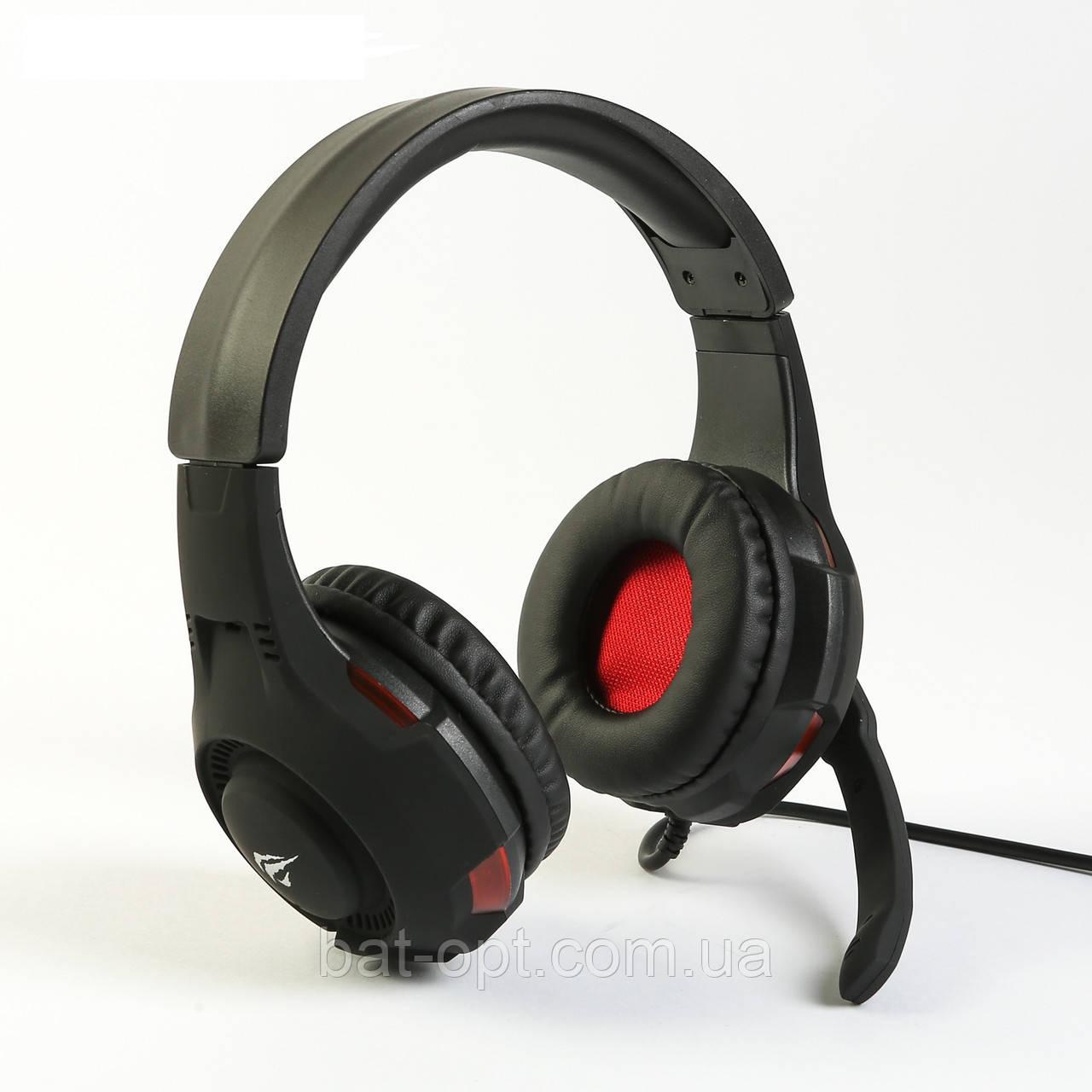 Наушники HAVIT HV-H2013D GAMING, чёрно-красные
