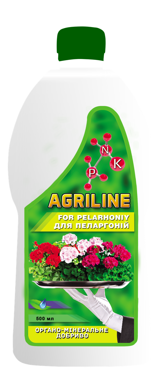 Органо-мінеральне добриво для пеларгоній