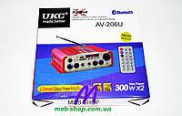 Усилитель звука UKC AV-206U USB+SD+Bluetooth, фото 5