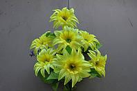 Искусственные цветы, букет крокус атлас (10 шт в уп)