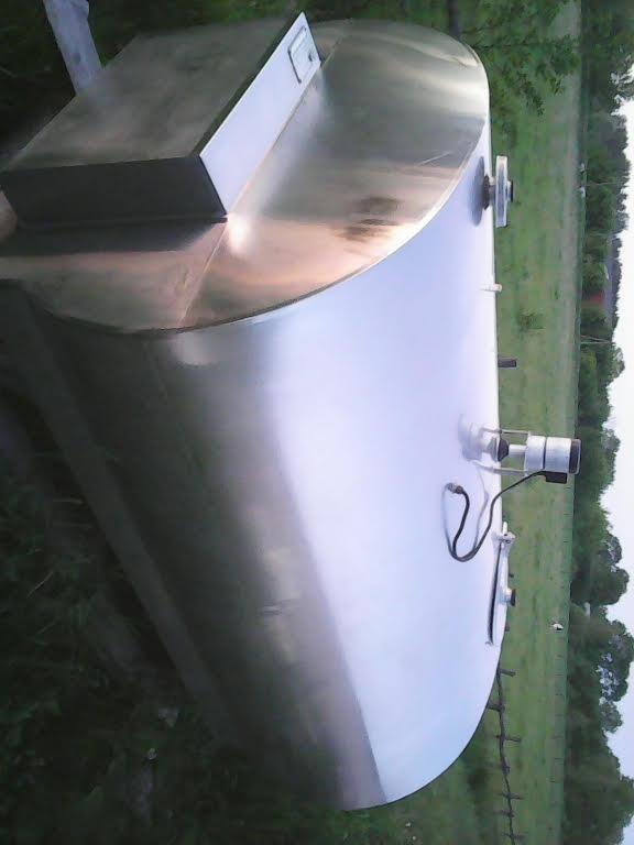 Охладитель молока закрытого типа Миллер 2150 л б/у