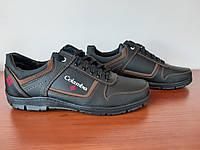 Чоловічі кросівки чорні, фото 1