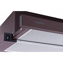 Вытяжка VENTOLUX GARDA 60 BR (750) SMD LED, фото 3