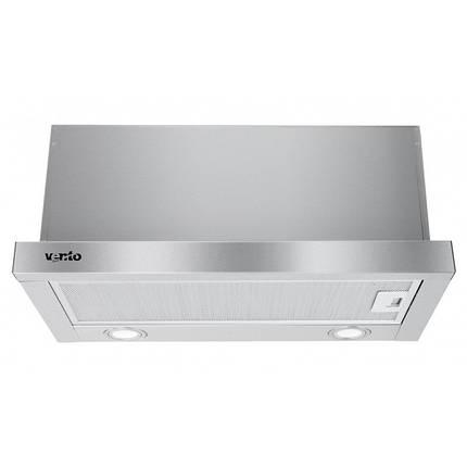 Вытяжка VENTOLUX GARDA 60 INOX 1000 LED, фото 2