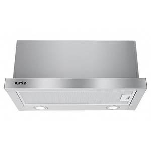 Вытяжка VENTOLUX GARDA 60 INOX 1000 LED