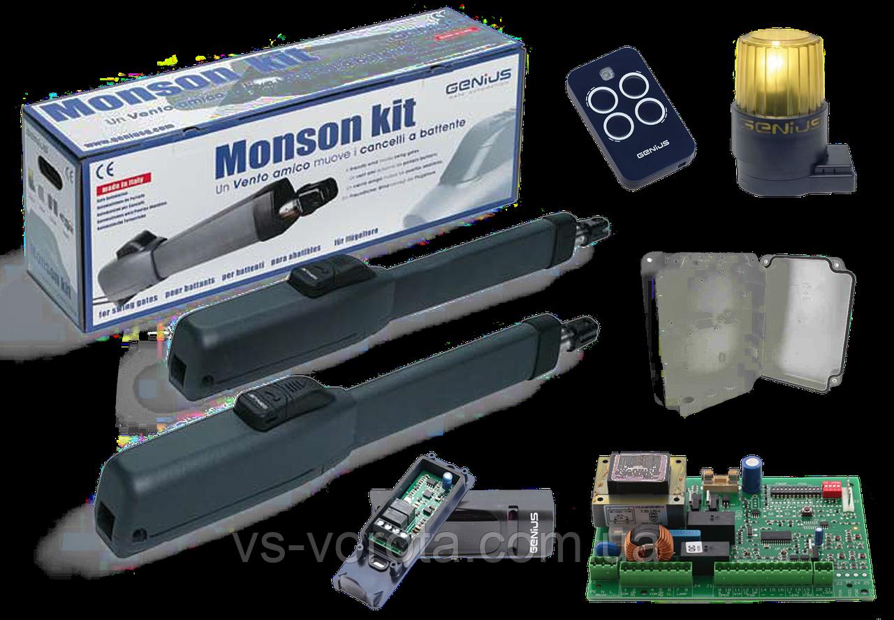 FAAC GENIUS MONSON KIT (Mistral 300) — автоматика для распашных ворот ( створка до 3м )