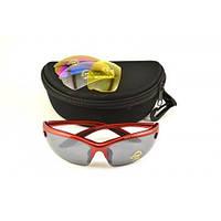 Солнцезащитные очки для спорта Красные  Spelli SGL-643, фото 1