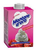 Вершки для збивання солодкі рослинні Montare d'oro 26%, 500мл Болгарія