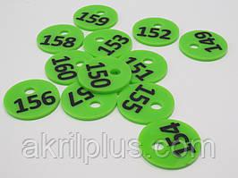 Номерок для ключей диаметр 35 мм