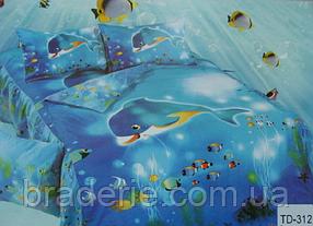 Детское постельное белье 3D Elway TD-312 Дельфин
