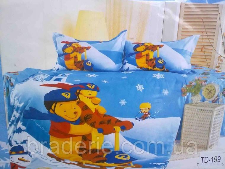 Детское сатиновое постельное белье 3D Elway