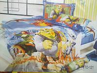 Детское постельное белье 3D Elway TD-121 Шрек