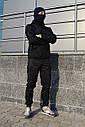 Карго брюки мужские черные ТУР Prometheus, фото 2