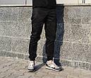 Карго брюки мужские черные ТУР Prometheus, фото 3