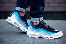 Мужские кроссовки Nike Air Max 95 Essential Blue/White/Black, фото 3