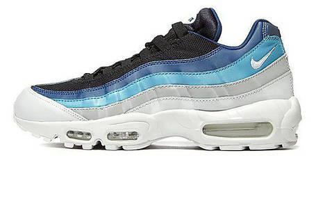 Мужские кроссовки Nike Air Max 95 Essential Blue/White/Black, фото 2