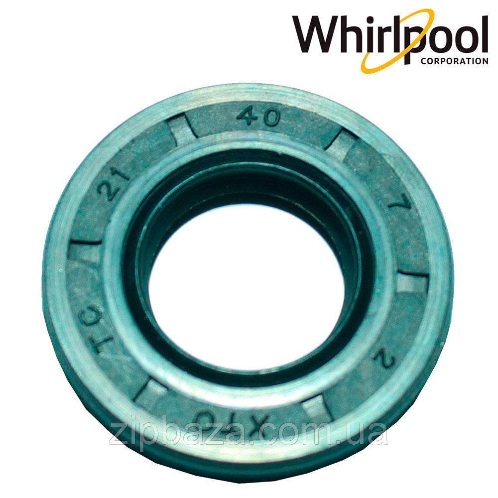 Сальник 21*40*7 для стиральных машин Whirpool