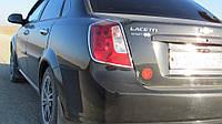Хром накладки на задние фонари Chevrolet Lacetti
