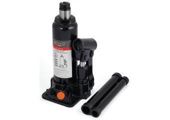 Домкрат гидравлический бутылочный 10т, 460м Expert E-80-050