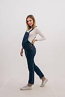 Полукомбинезон джинсовый для беременных 316731, фото 1