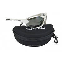Очки спортивные Белые Spelli SGL-990, фото 1