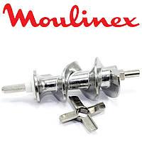 Шнек и нож для мясорубки серии HV8 Moulinex SS-193513