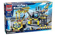 """Конструктор Brick 2412 """"Исследовательская база Альфа"""", 753 деталей, фото 1"""