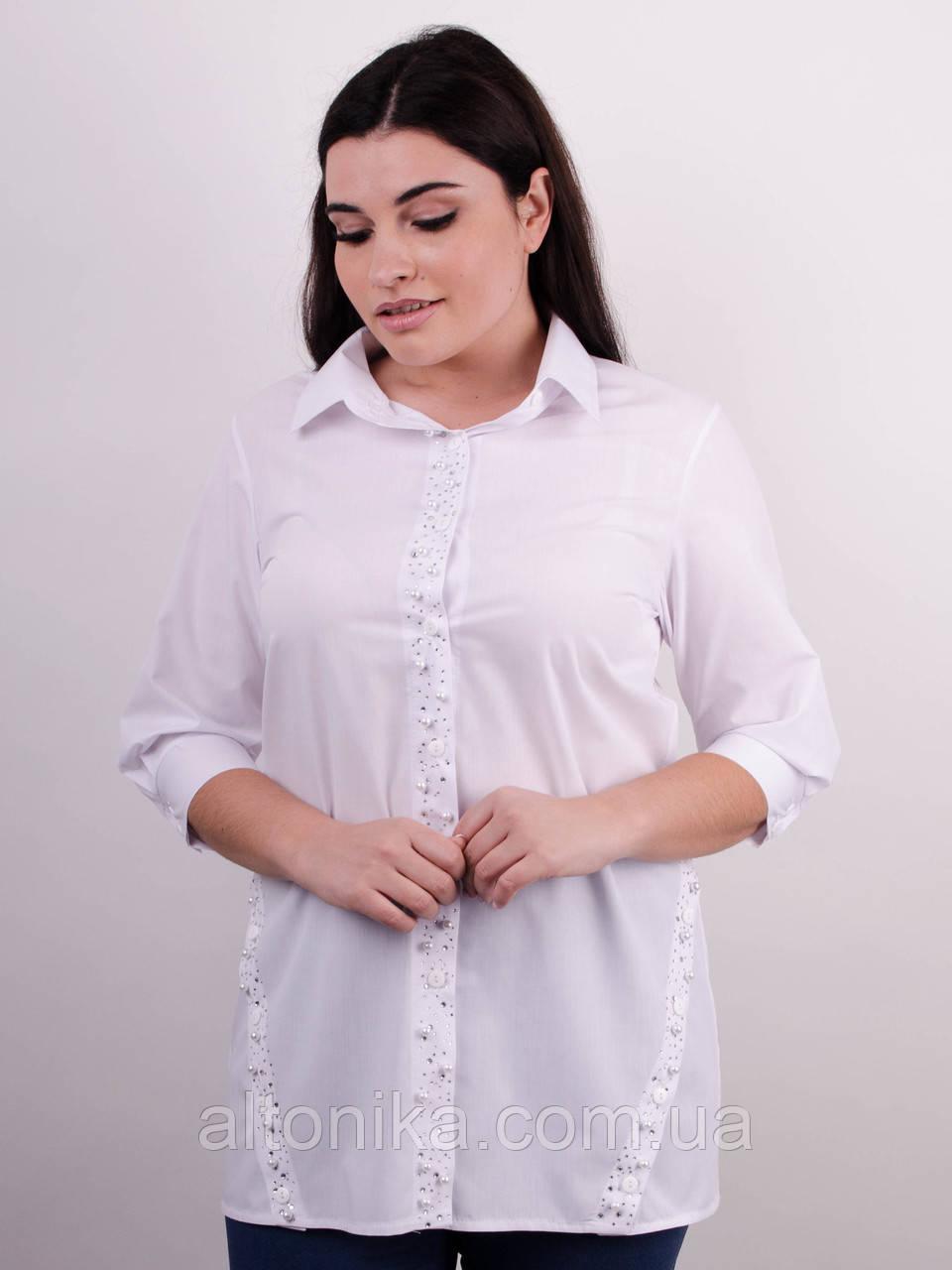 Дакота. Оригинальная женская рубашка больших размеров. 58, 60, 62, 64