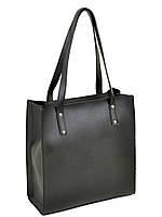 ed5a47945524 Классическая женская сумка иск-кожа, двойное отделение, черный 30*31*13см
