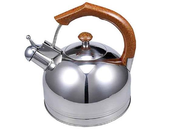 Чайник из нержавеющей стали Zauberg 3 литра (ZB 004), фото 2