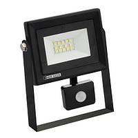 Светодиодный прожектор с датчиком движения 10W 6400K Pars/s-10 Horoz Electric