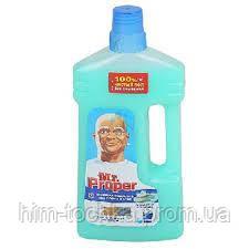 Mr.Proper моющая жидкость для мытья полов Горный ручей 1000 мл