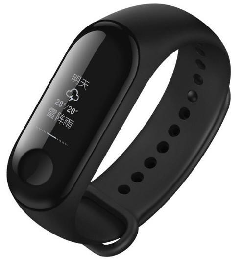 Фитнес-трекер Xiaomi Mi Band 3 Black Оригинал + ремешок Black/Green Nike Гарантия 3 месяца