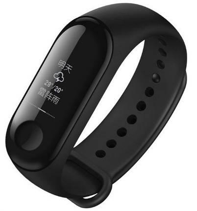 Фитнес-трекер Xiaomi Mi Band 3 Black Оригинал + ремешок Black/Green Nike Гарантия 3 месяца, фото 2